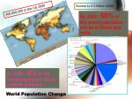 world population change