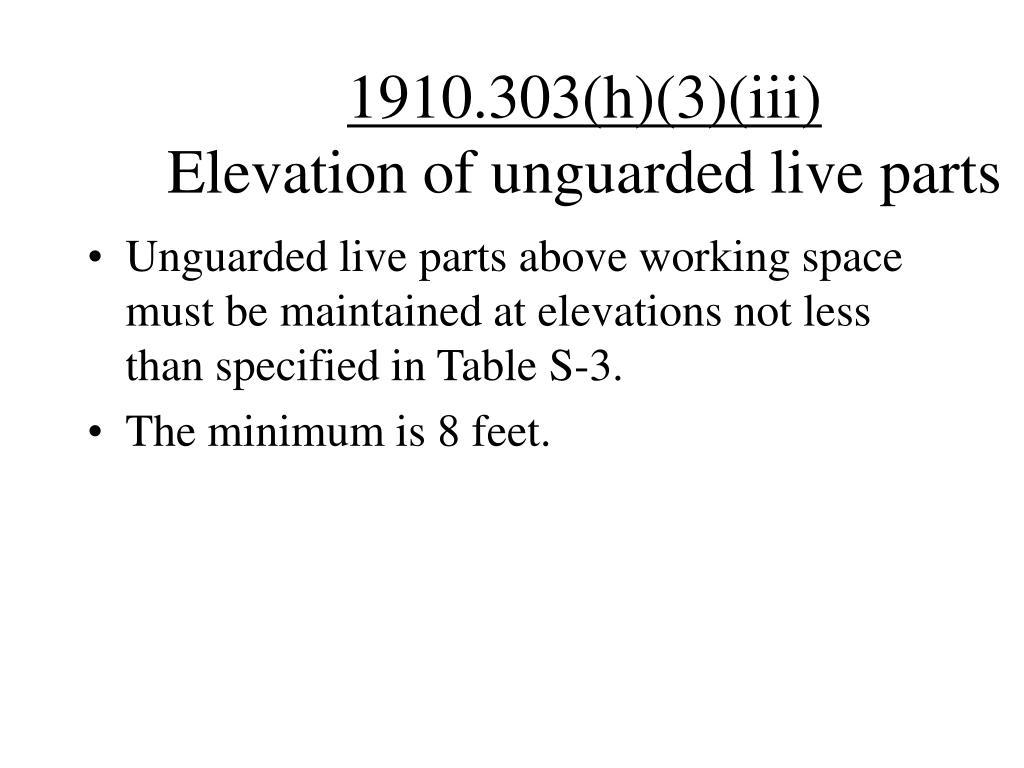 1910.303(h)(3)(iii)