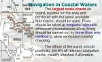 navigation in coastal waters