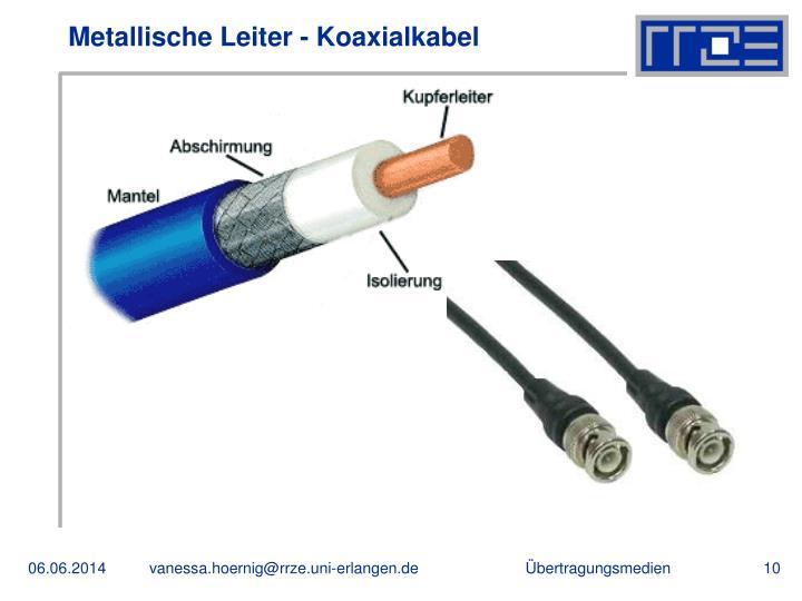 Metallische Leiter - Koaxialkabel