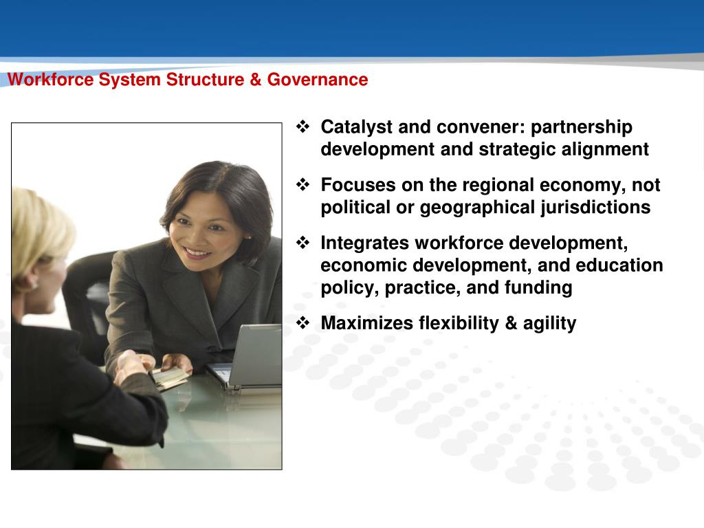 Catalyst and convener: partnership development and strategic alignment