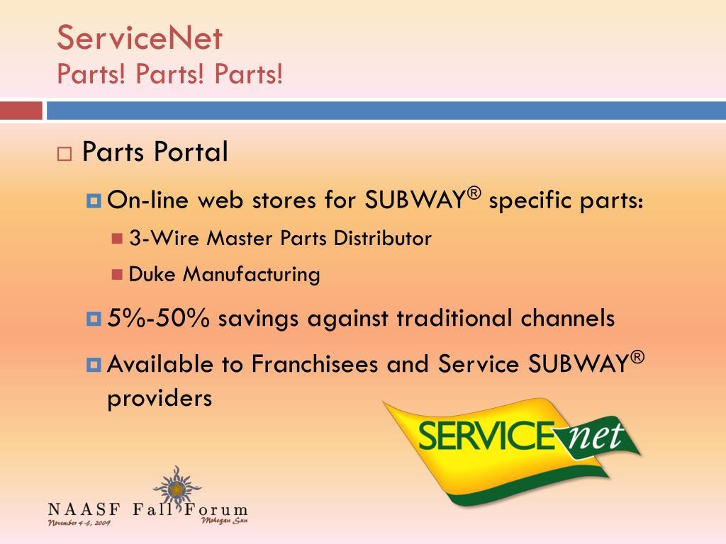 ServiceNet