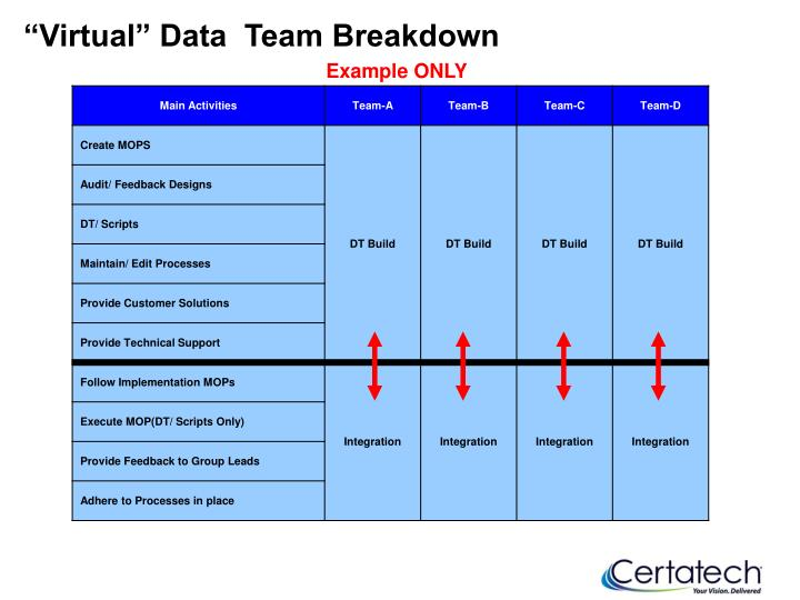 """Virtual"" Data  Team Breakdown"