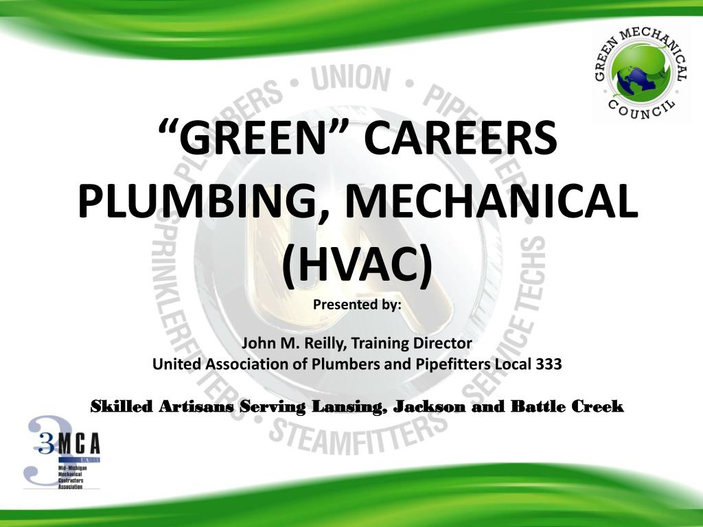 """GREEN"" CAREERS"