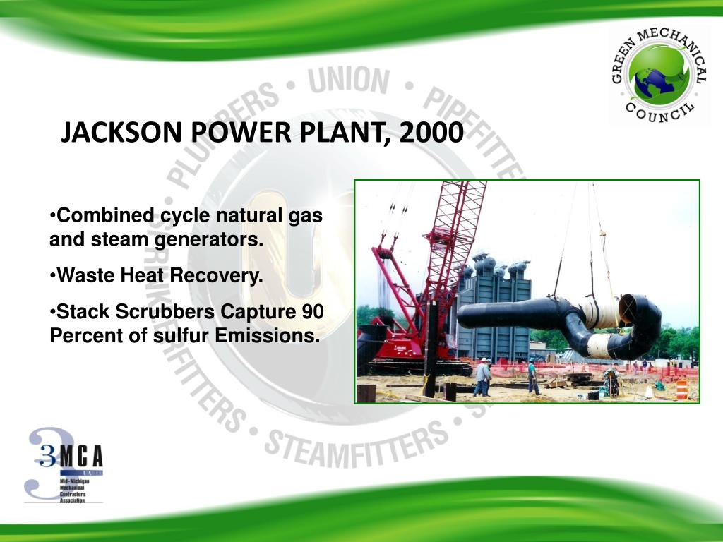 JACKSON POWER PLANT, 2000