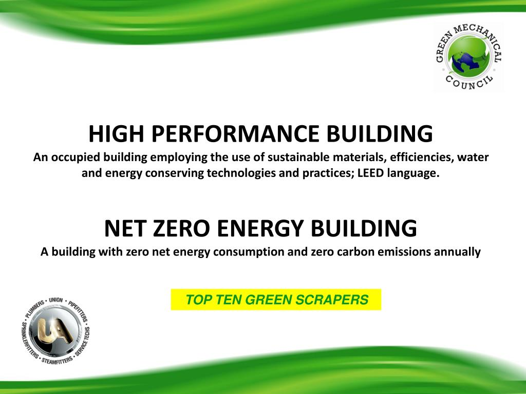 HIGH PERFORMANCE BUILDING