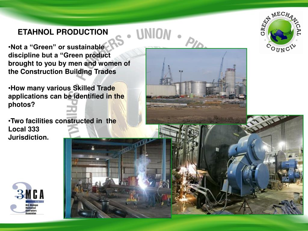 ETAHNOL PRODUCTION