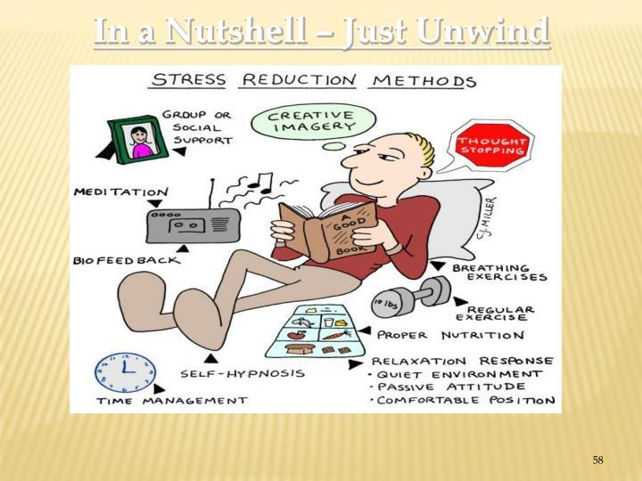 In a Nutshell – Just Unwind