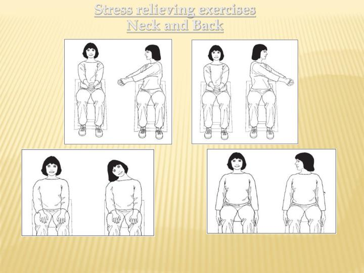 Stress relieving exercises
