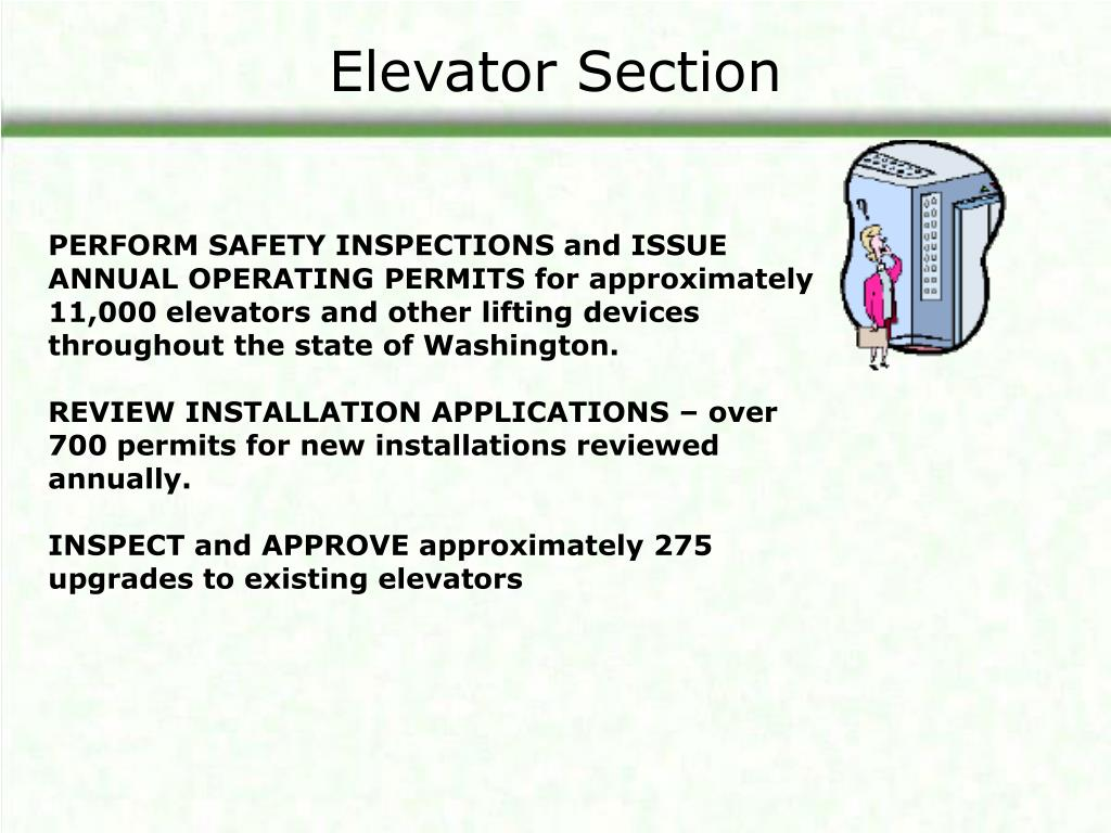 Elevator Section