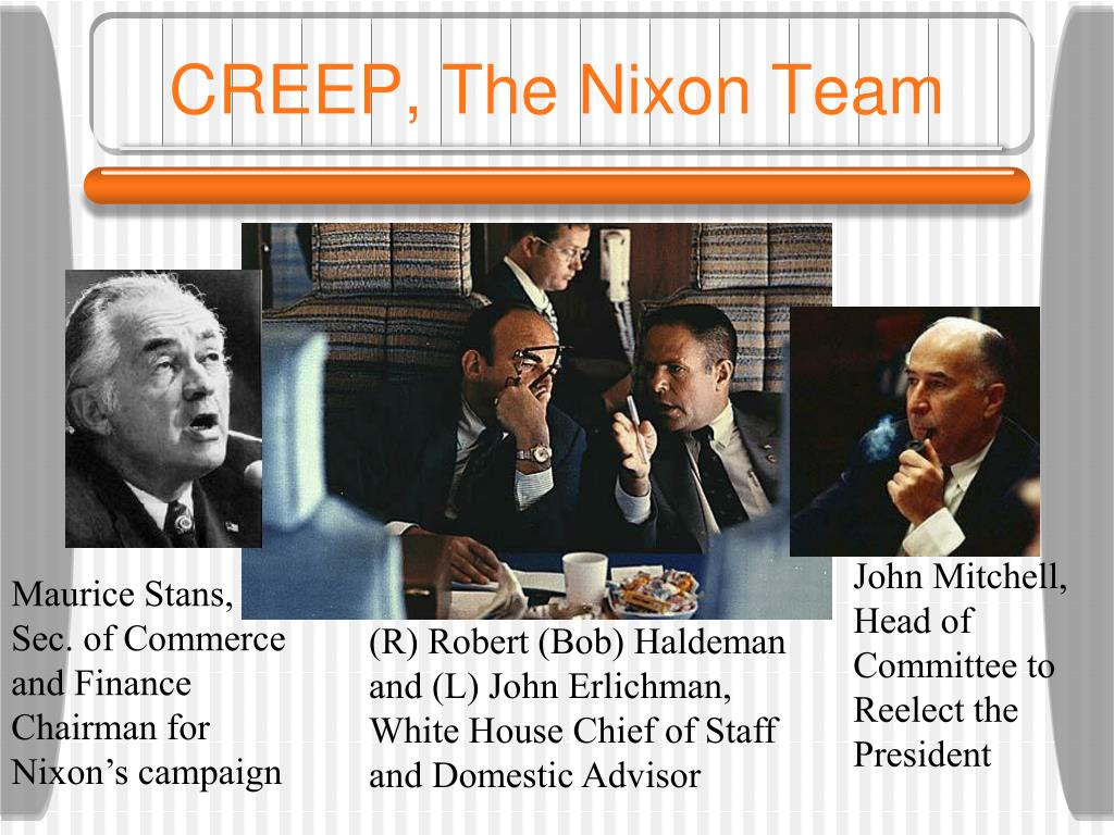 CREEP, The Nixon Team