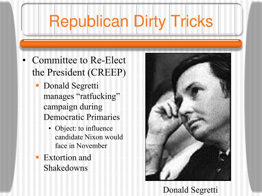 Republican Dirty Tricks