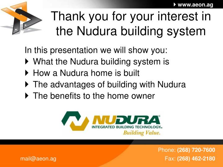 Thank you for your interest in the nudura building system l.jpg