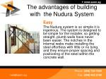 the advantages of building with the nudura system32