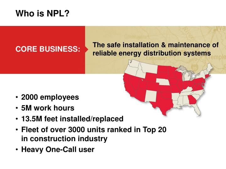 Who is npl
