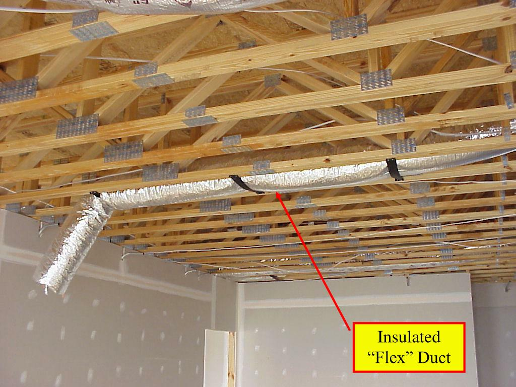 "Insulated ""Flex"" Duct"