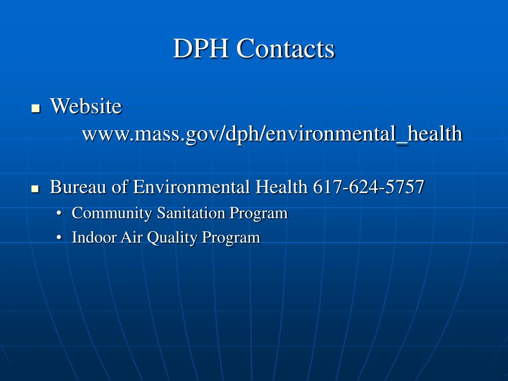 DPH Contacts
