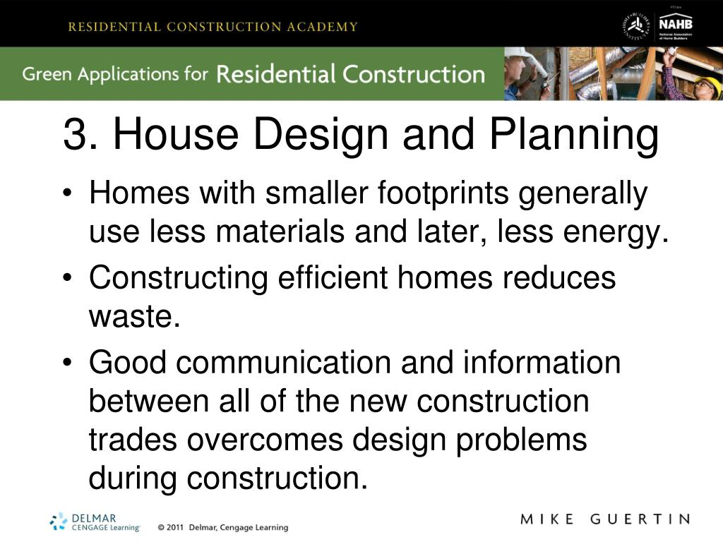 3. House Design and Planning