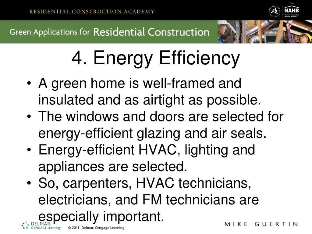 4. Energy Efficiency