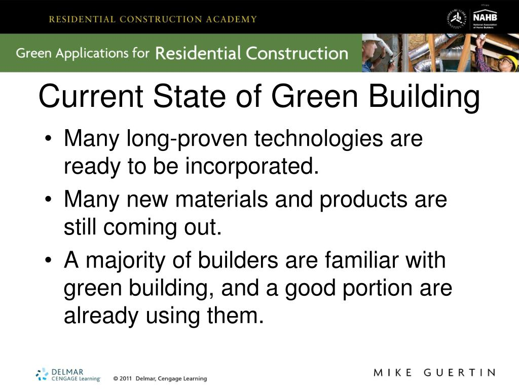 Current State of Green Building