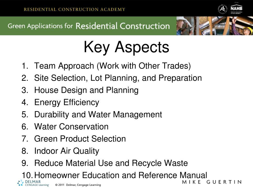Key Aspects