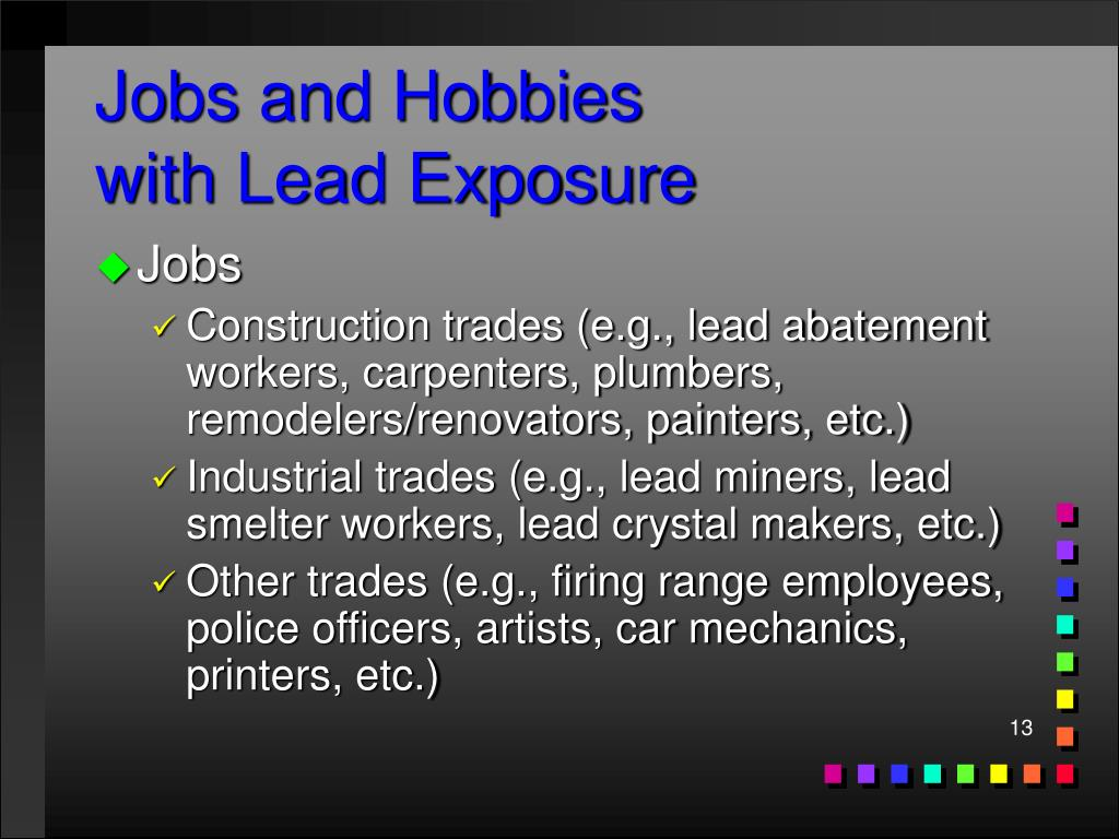 Jobs and Hobbies