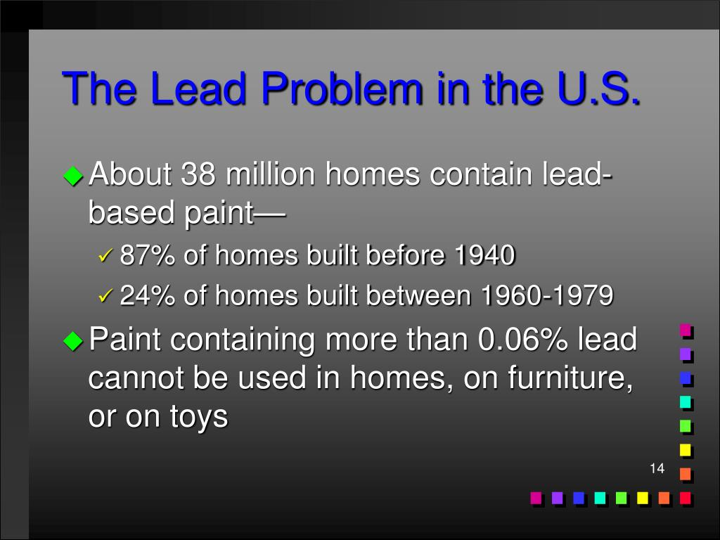 The Lead Problem in the U.S.