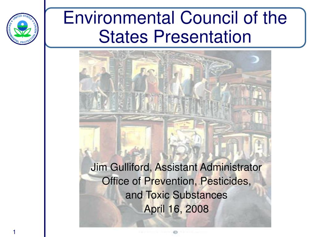 Environmental Council of the States Presentation