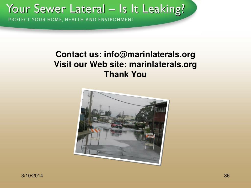 Contact us: info@marinlaterals.org