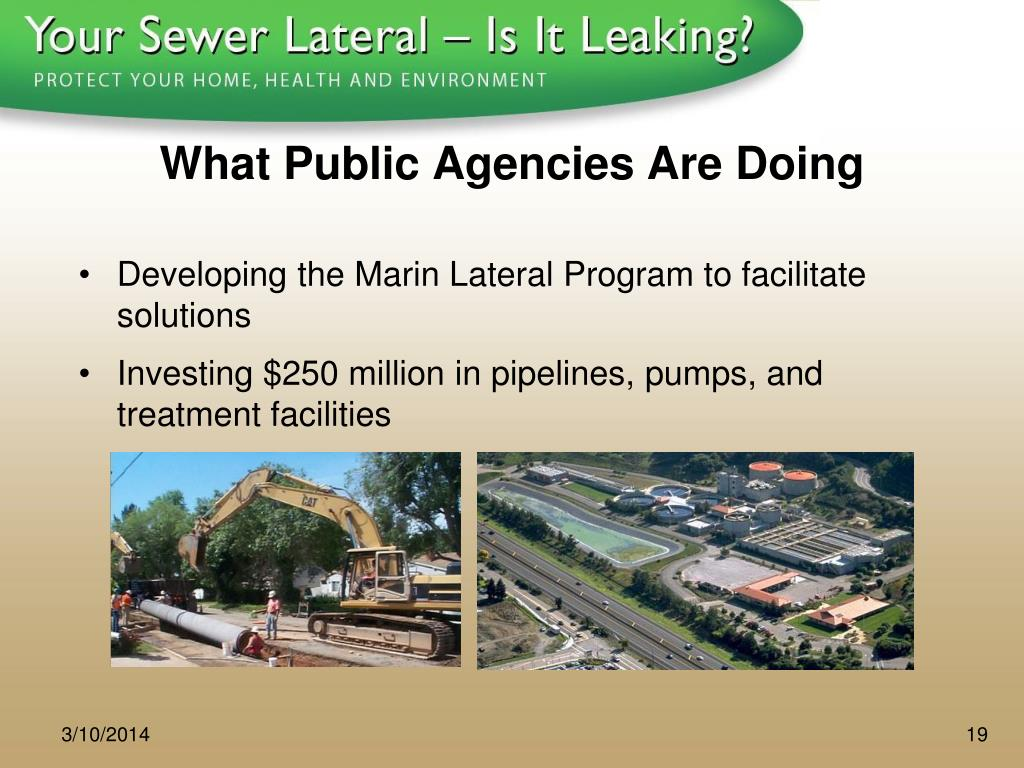 What Public Agencies Are Doing
