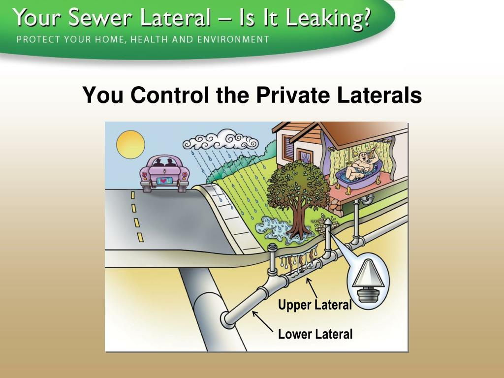You Control the Private Laterals