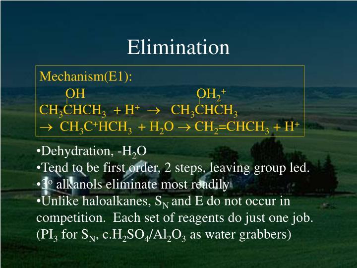 Mechanism(E1):