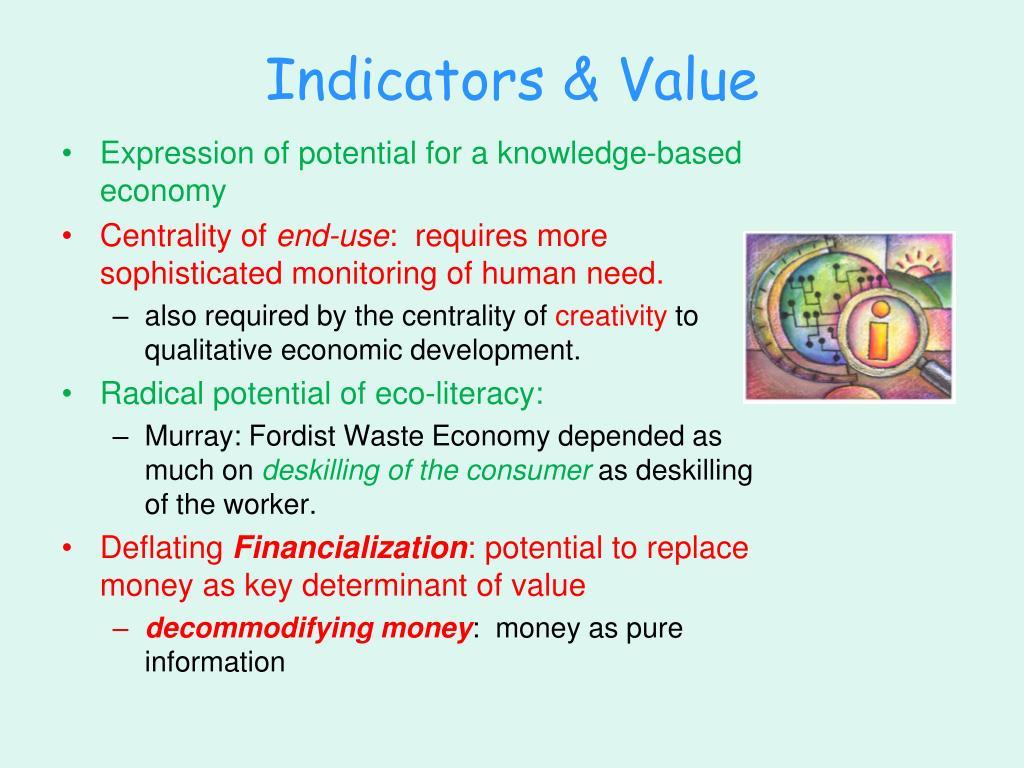 Indicators & Value