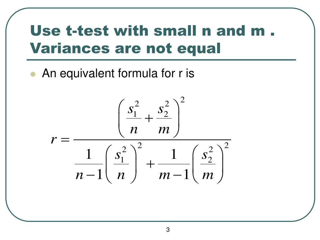 Use t-test with small n and m . Variances are not equal