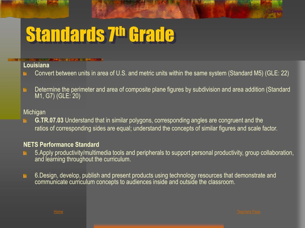 Standards 7