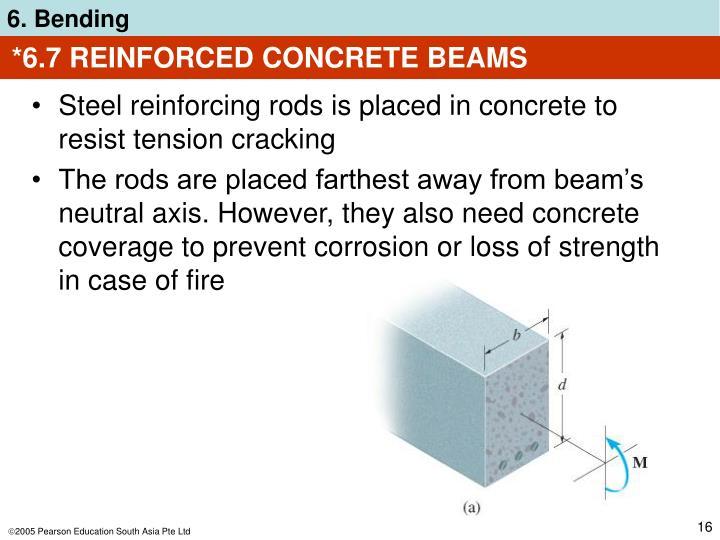 *6.7 REINFORCED CONCRETE BEAMS
