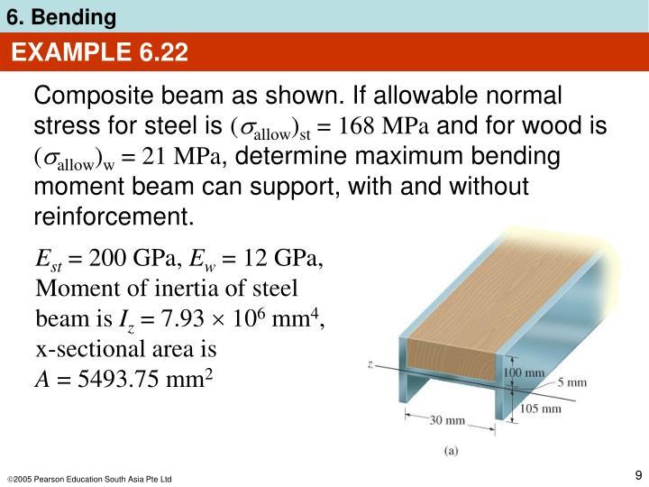 EXAMPLE 6.22