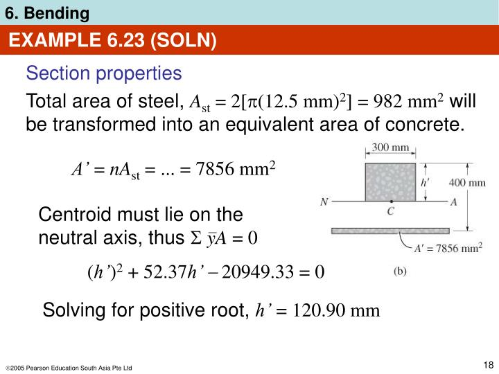 EXAMPLE 6.23 (SOLN)