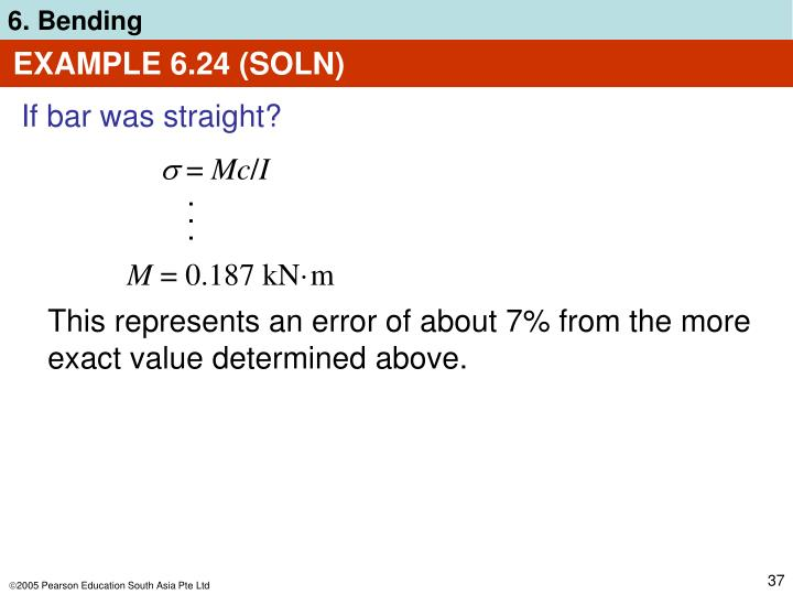 EXAMPLE 6.24 (SOLN)
