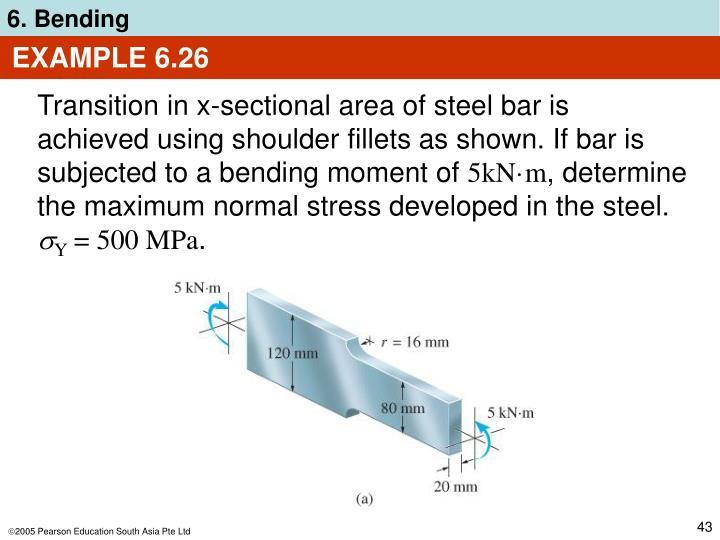 EXAMPLE 6.26