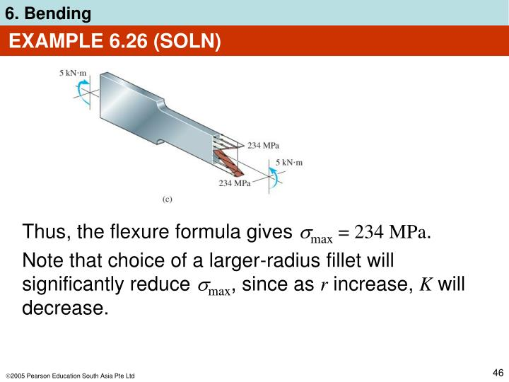 EXAMPLE 6.26 (SOLN)