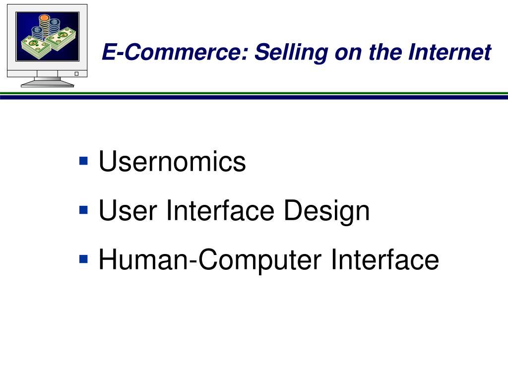 Usernomics