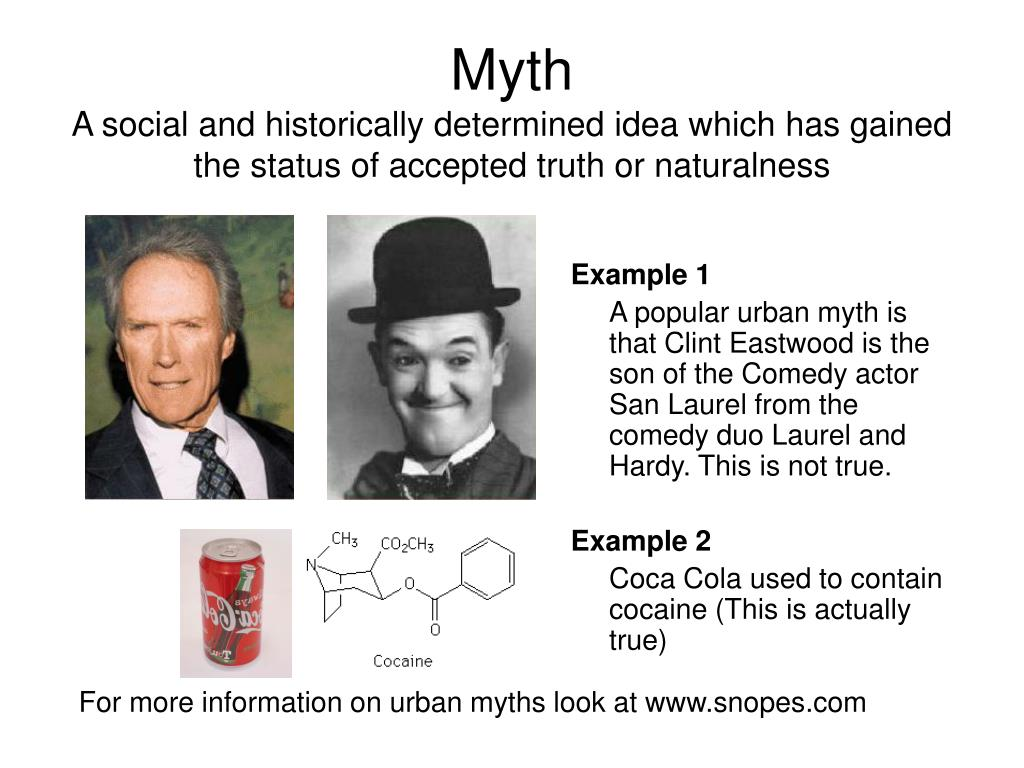 For more information on urban myths look at www.snopes.com