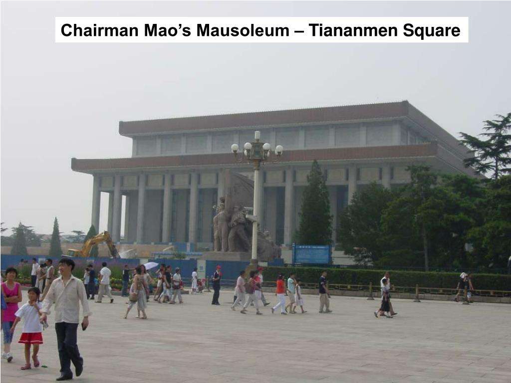 Chairman Mao's Mausoleum – Tiananmen Square