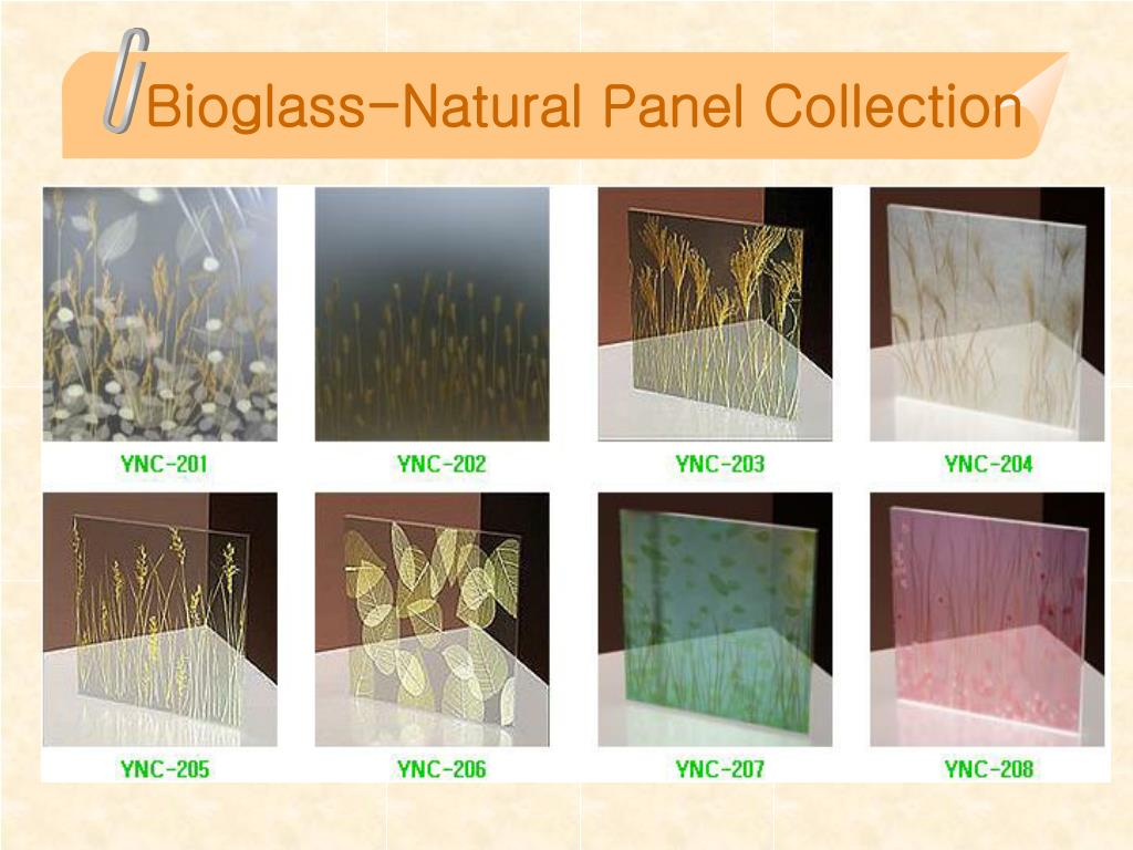 Bioglass-Natural Panel Collection