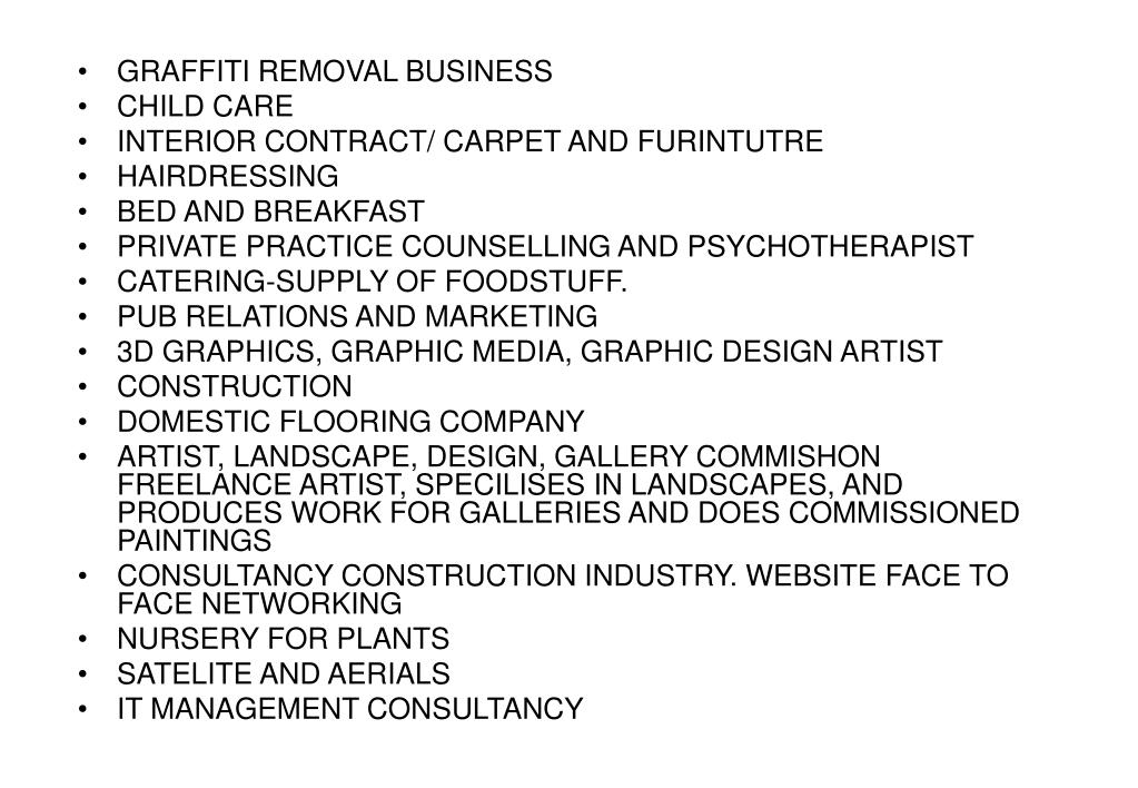 GRAFFITI REMOVAL BUSINESS