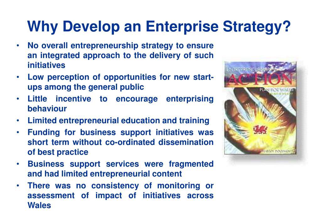 Why Develop an Enterprise Strategy?