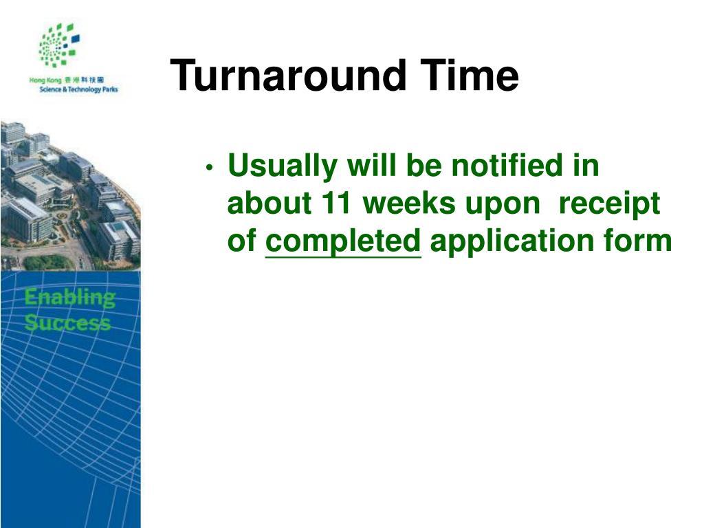 Turnaround Time