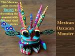 mexican oaxacan monster
