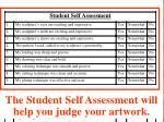 self assessment sheet141